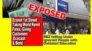 13 Feb Econet 1st St Exposed. WorldRemit Western Union Forex Theft for Ecocash & Bond, RBZ Outdated