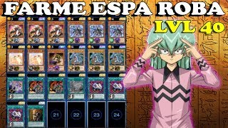 FARMANDO ESPA ROBA LVL 40 - Yu-Gi-Oh! DUEL LINKS