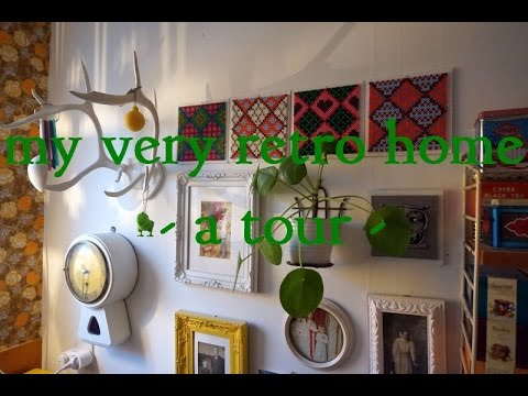 my very retro home tour