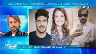 Domenica Live, Il fidanzato di Jane Alexander parla per la prima volta del TRADIMENTO al Gf Vip