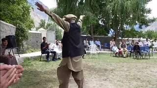 Gilgiti music and dance performed by RajaRahat..