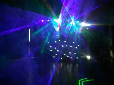 Light Display Walkington School. Ace Disco Party Sounds