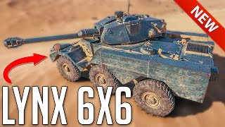 AML LYNX 6x6 • JEEP - First Look ► World of Tanks Panhard AML Lynx 6x6 - Update 1.4+