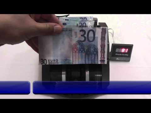 Geldzählmaschine Geldzähler Geldscheinzähler Banknotenzähler Geldprüfer UV MG - BisBro Technology