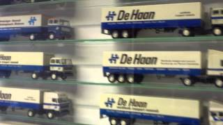 LION Toys scale diecast truck + car models museum , De Lier , Holland.
