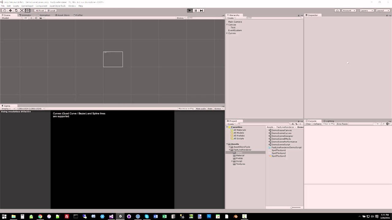 Fast Line Renderer for Unity - GPU Line and Particle System