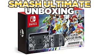 Super Smash Bros Ultimate Switch Unboxing | Austin John Plays