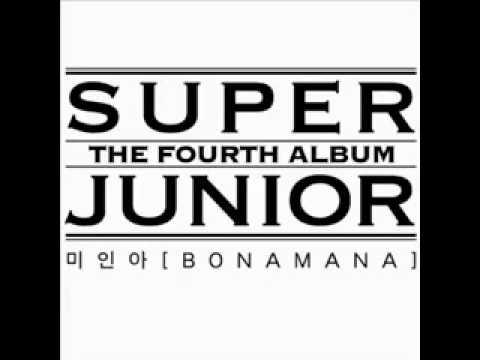 SuperJunior-BONAMANA (미인아) full + Download link + lyric