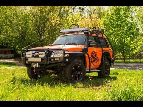 Offroad 4x4 подготовка внедорожника Nissan Patrol. Переоборудование авто для бездорожья
