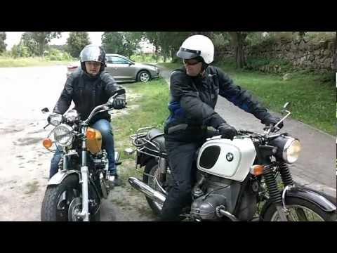Bmw R75/5 '71 Vs. Honda CB750C '81