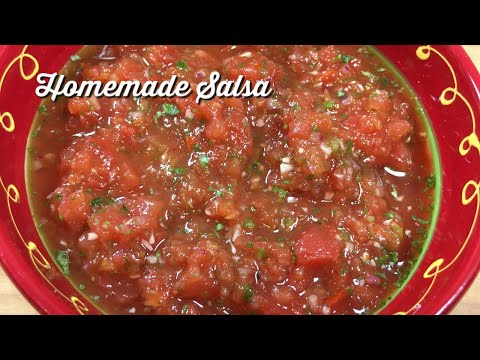 Homemade Salsa / Easy Salsa Recipe
