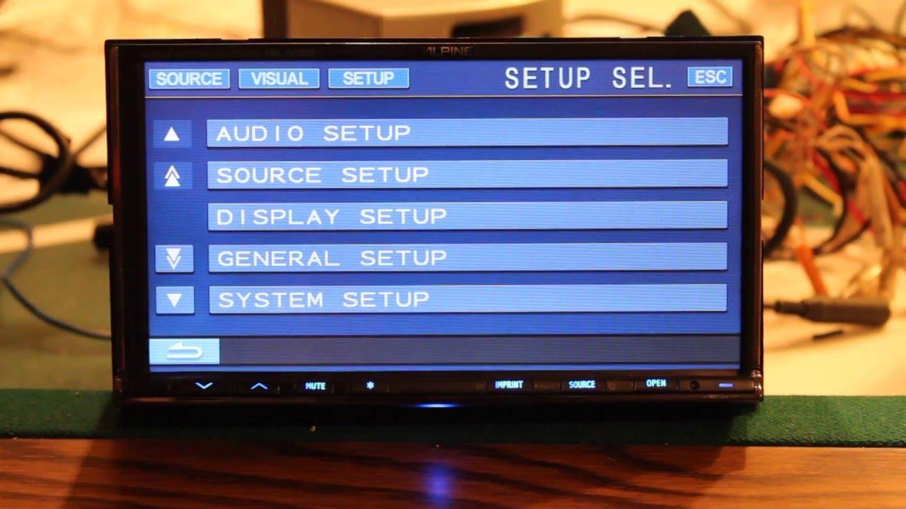 Alpine Iva W505 Mobile Multimedia Station Deck Radio Youtube W205 Wiring Diagram
