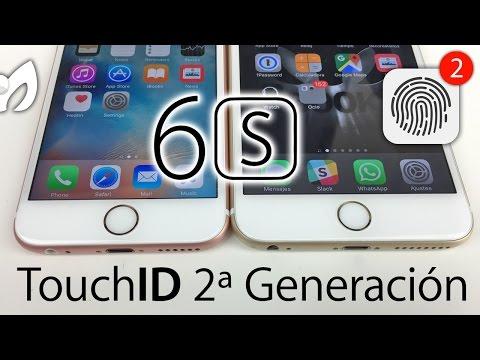 TOUCH ID 2da GEN (INCREÍBLE VELOCIDAD) #iPhone6sPlus vs #iPhone6Plus