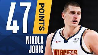 Nikola Jokic Ties His CAREER-HIGH With 47 PTS in Home W! 🃏
