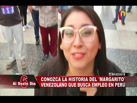 Conozca la historia del 'Margarito' venezolano que busca empleo en Lima