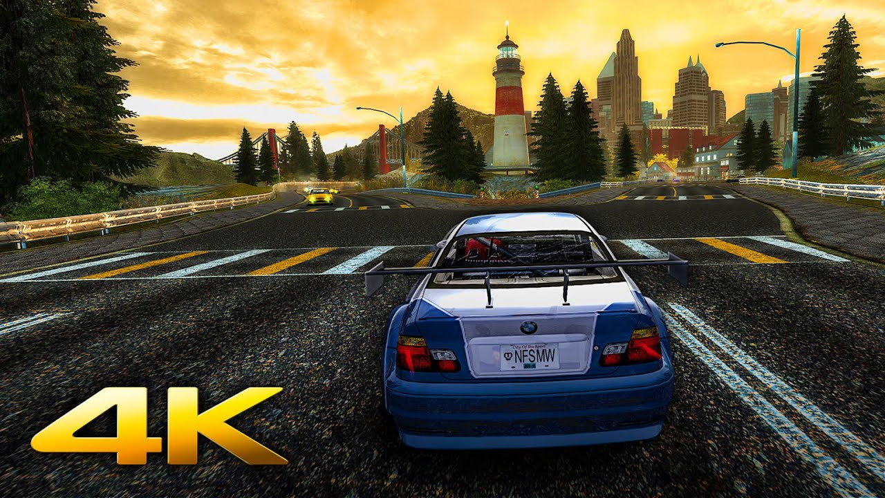 Nfs Most Wanted Redux 2019 Ultimate Cars Graphics Mod In 4k