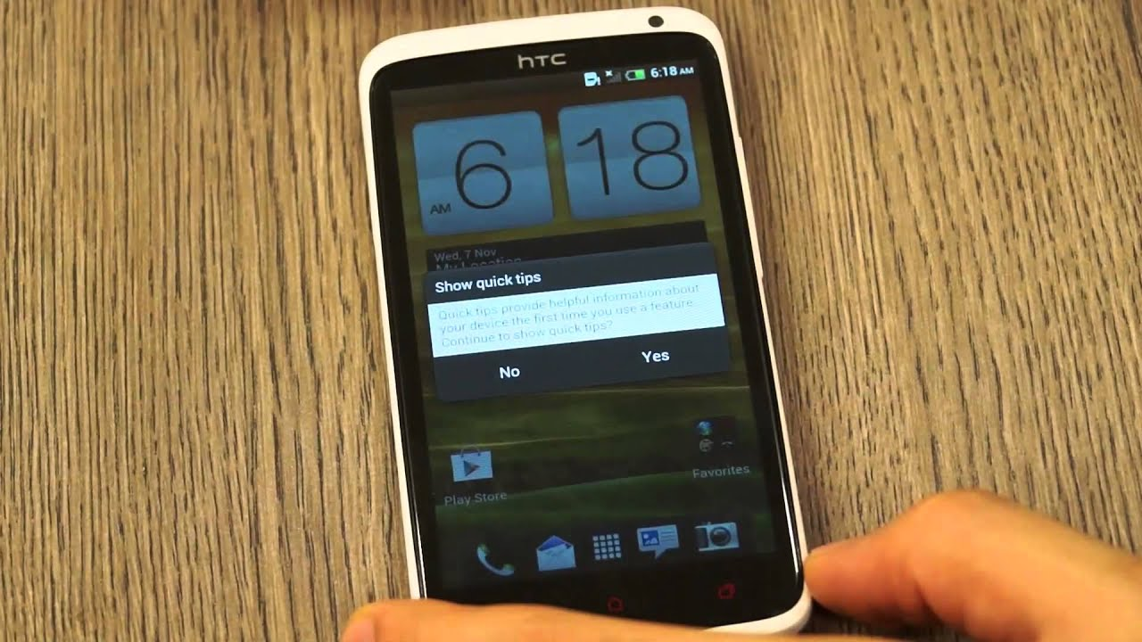 How to Reset a HTC Smartphone when Locked Out: 8