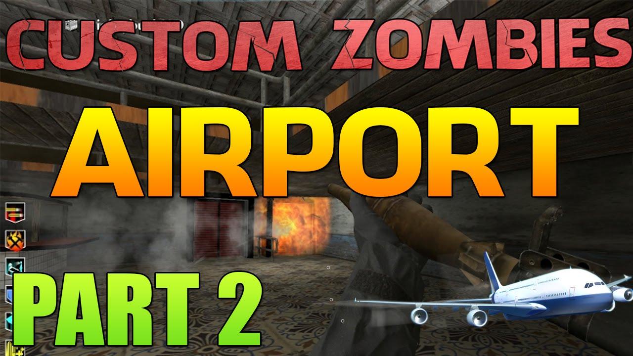 Aeroporto Waw : Cod waw custom zombies airport part 2 blowing up door youtube