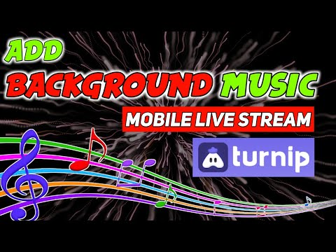 How To Add Background Music In Livestream Mobile | Turnip App