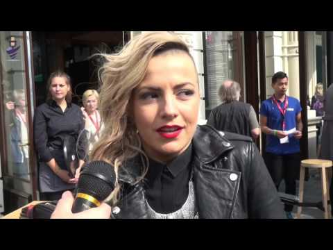 Interview Poli Genova (Bulgaria 2016) at Eurovision In Conce