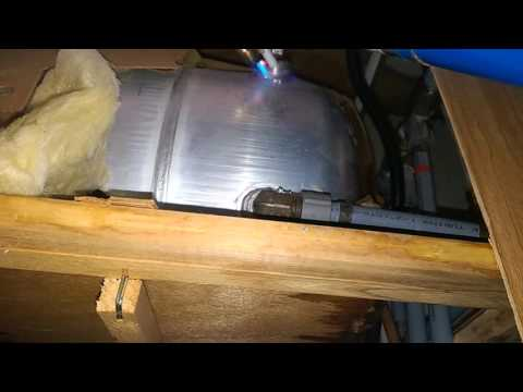 Repair a Cracked Aluminum RV Water Heater with AlumiRod and Propane