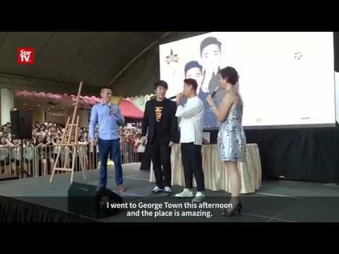 Kang Gary makes appearance in Penang