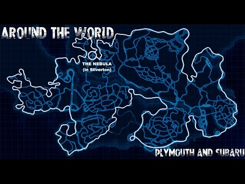 Need For Speed World - Plymouth and Subaru Meeting and Cruise Around The World (July 7, 2015)