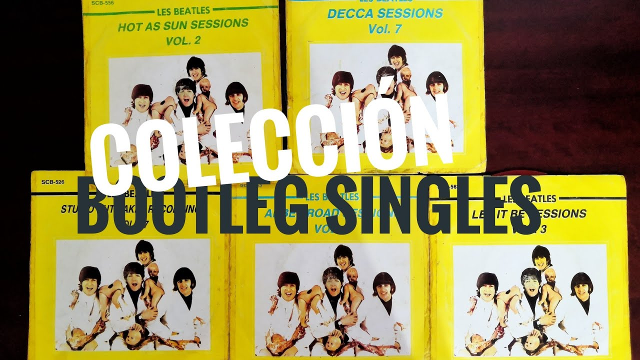 Les Beatles Bootlegs Singles Collection - en español