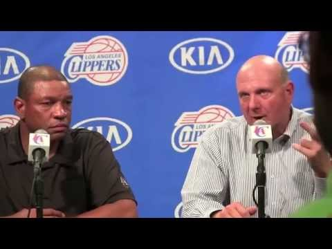 Steve Ballmer Fan Fest: Clippers Press Conference