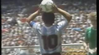 Maradona en la Final del Mundial 1986 - Por Diego Mizraji