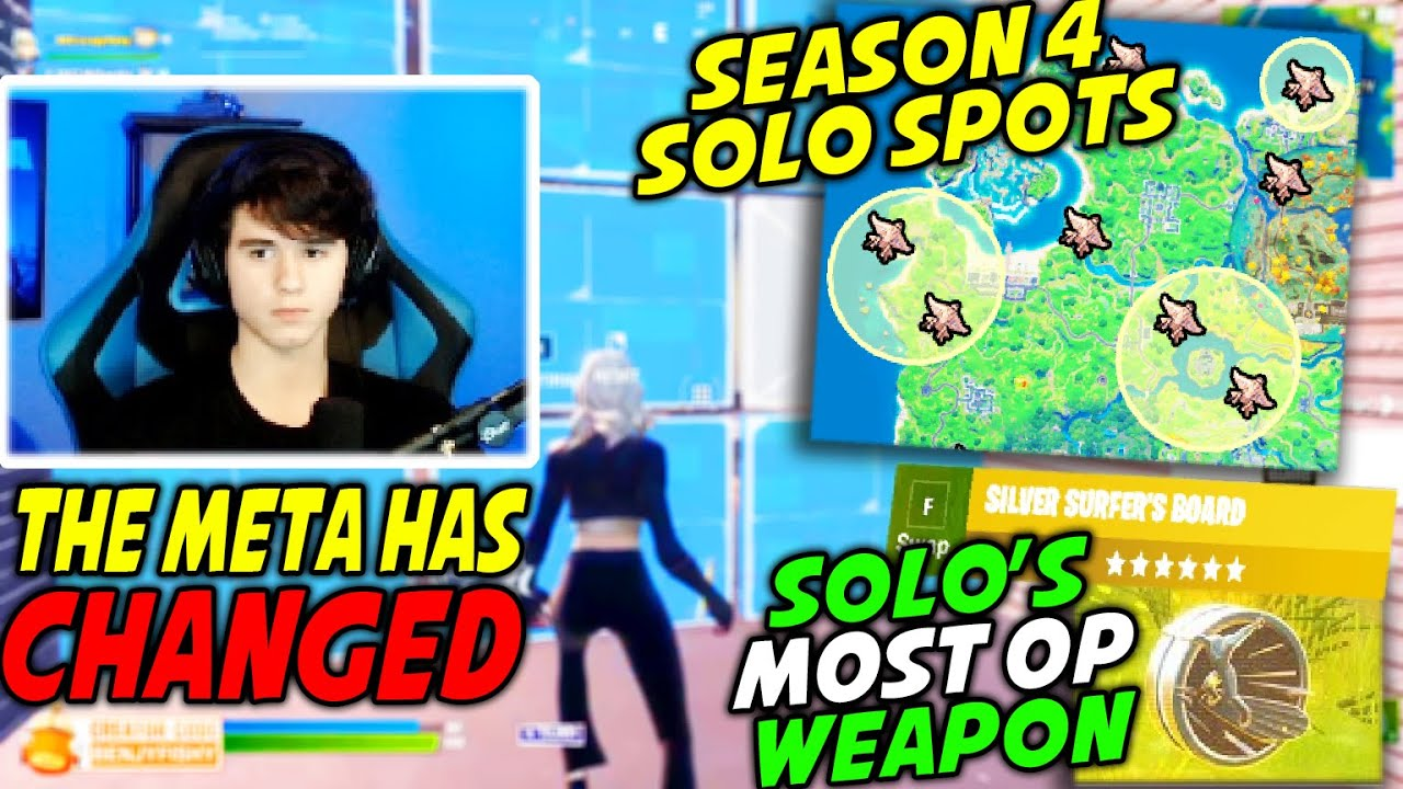 Bugha Explains How The META Has Changed in Season 4 & Why THESE Planes Are The BEST Spots For Solo's