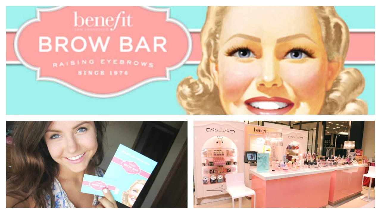 Benefit Brow Bar Review First Impression My Experience Youtube
