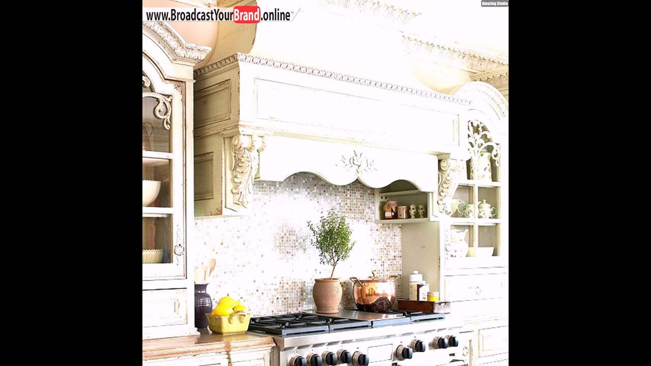 Fliesen Küchenrückwand Schimmernde Glas Modaik - YouTube