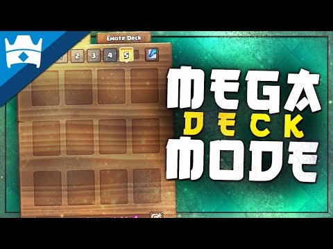 MEGA DECK GAME MODE TEASED FOR APRIL UPDATE?! || Clash World