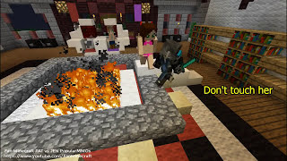 Princess Jen was tricked pain by Pat and Witch Jemma Part 2 PopularMMOs Minecraft Animation Movie