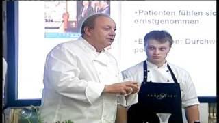 Vortrag von Starkoch Alfons Schuhbeck