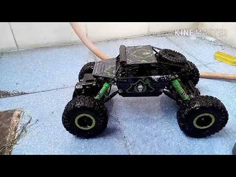 Perfect cleaning of rc crawler / how to clean a rc crawler