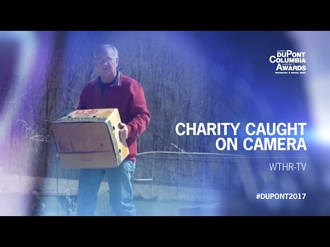 "WTHR-TV: ""Charity Caught on Camera"" 
