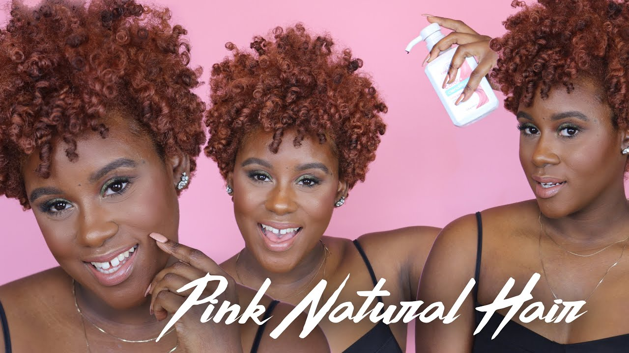 Rose Gold Natural Hair Update | All the Deets on my Color!!