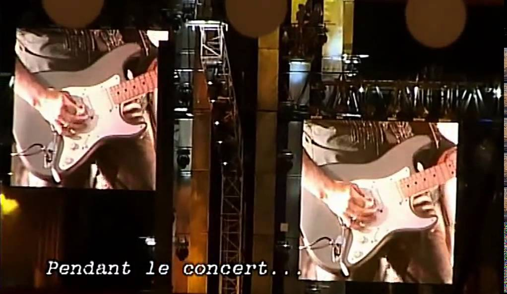 Johnny Hallyday Making Of Parc des Princes 2003