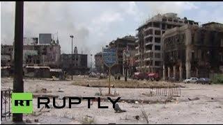 Syria: Syrian army retake ravaged Homs