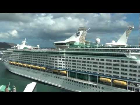 Mariner and Adventure of the Seas Horn Wars at Tenerife