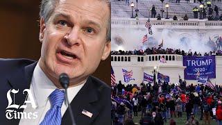 FBIDirector Wray says Capitol riot was 'domestic terrorism'