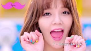 Video MY TOP 15 AOA SONGS download MP3, 3GP, MP4, WEBM, AVI, FLV Agustus 2018