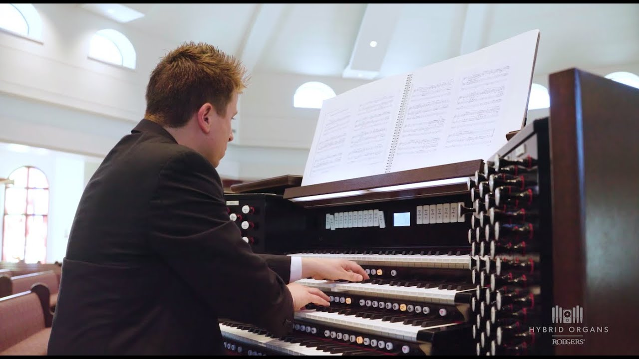Rodgers Hybrid Organs: Maple Leaf Rag - Scott Joplin (Arr  for the organ by  Adam J  Brakel)