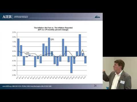 Steven Cunningham: Everyday Inflation and Inflation Outlook [AIER Knight-Bagehot seminar, 2013]