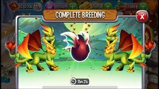 New Nature Dragon vs New Nature Dragon | Dragon City [RARE BREEDING DRAGON]