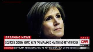 Sally Yates first CNN TV Interview with Anderson Cooper FULL