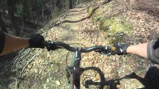 Thunder Rock Express Downhilll Mountain Bike Trail - Ocoee Tennessee