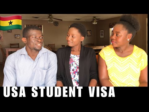 USA F1 Student Visa Interview Experience | Ghanaian Students In The USA